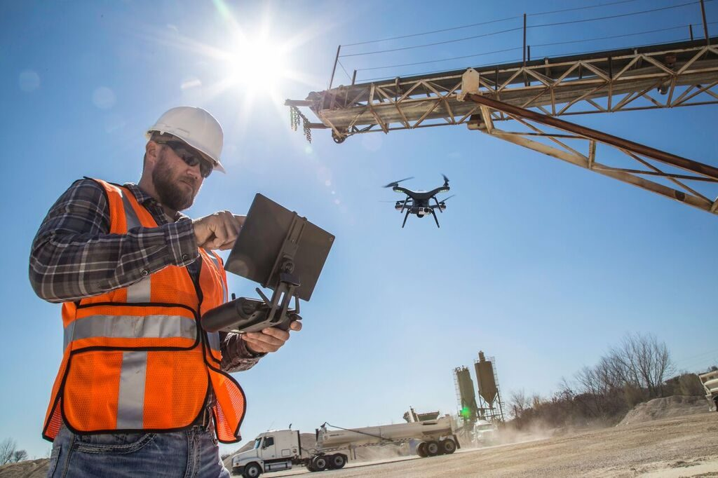 What is the requirement of Drones in Mapping and Surveying?